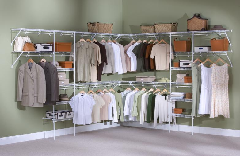 Wire And Wood Ventilated Closet Shelving Sitename